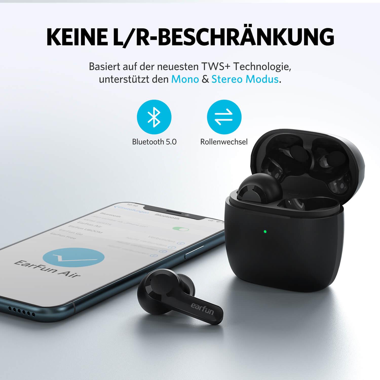 EarFun Air - Schwarz