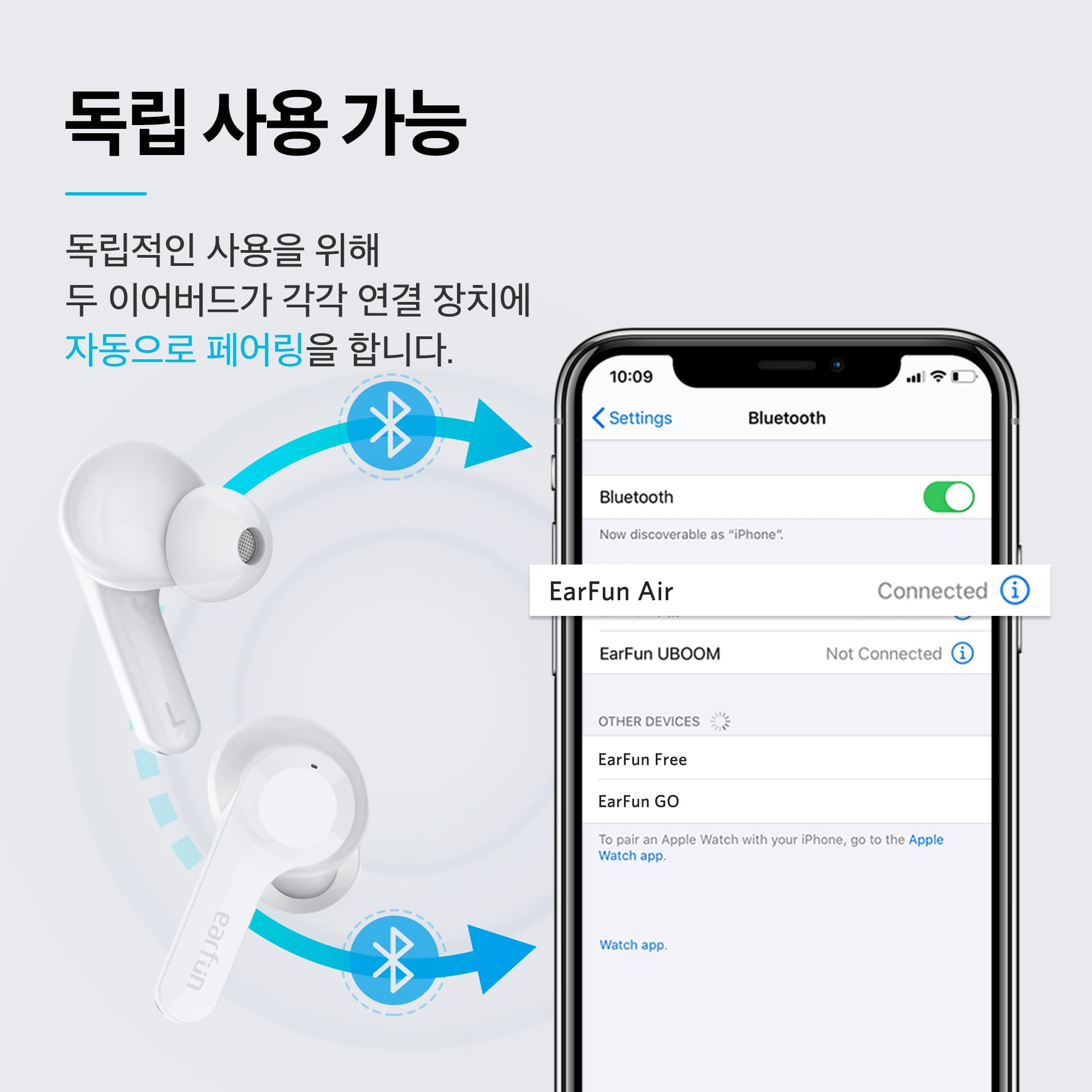 EarFun Air - 화이트